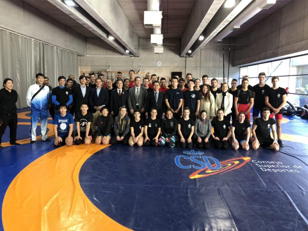 スペインレスリング競技トレーニング等交流派遣事業