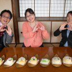 桃カステラ食べ比べ (3)