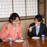 桃カステラ食べ比べ (10)