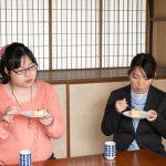 桃カステラ食べ比べ (7)