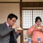 桃カステラ食べ比べ (6)