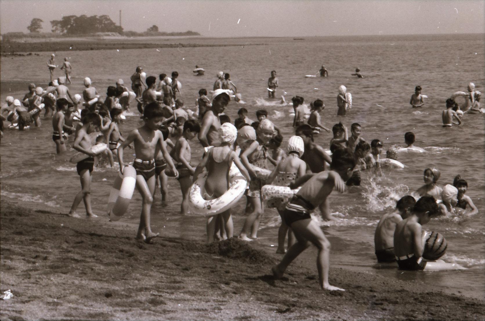 昭和39年猛島海水浴場